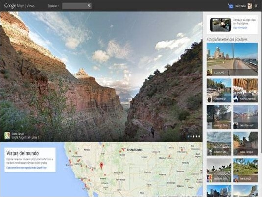 Google lanzará aplicación de Street View para fotos en 360 grados