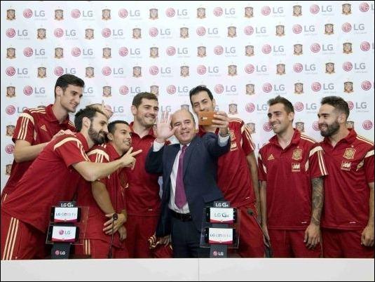 """LG apoya a """"la roja"""" en su carrera hacía la Eurocopa 2016"""