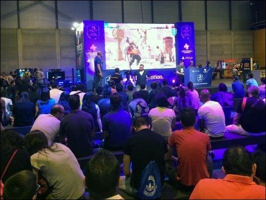 Cientos de jugadores participan en la Liga Oficial PlayStation en Gamergy