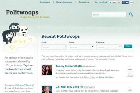 Twitter bloquea acceso a Politwoop, el sitio que recoge errores de políticos