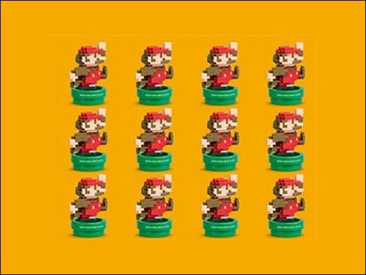 Aparece Amiibo de Mario en 8-bit
