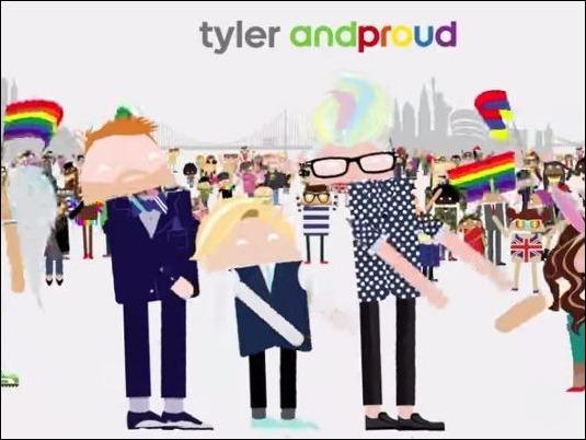 Android celebra (y apoya) las fiestas de Orgullo Gay