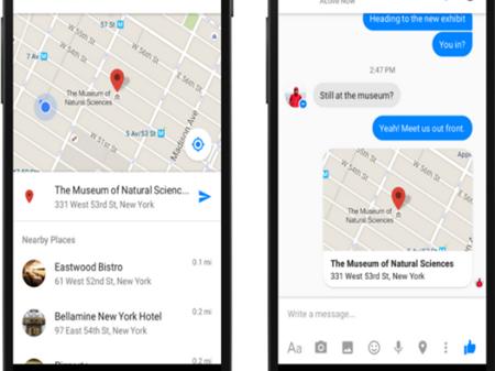Facebook Messenger dejará de compartir ubicación
