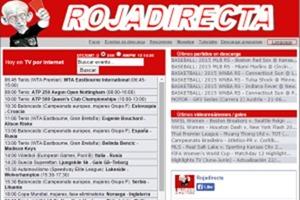 RojaDirecta deberá dejar de emitir partidos de fútbol, tras orden judicial