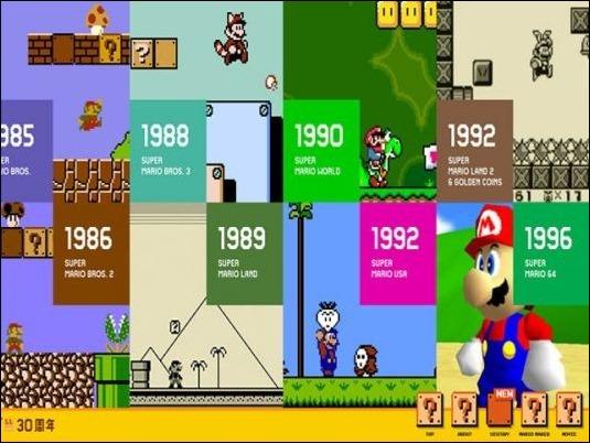 Nintendo celebra el trigésimo aniversario de Super Mario Bros