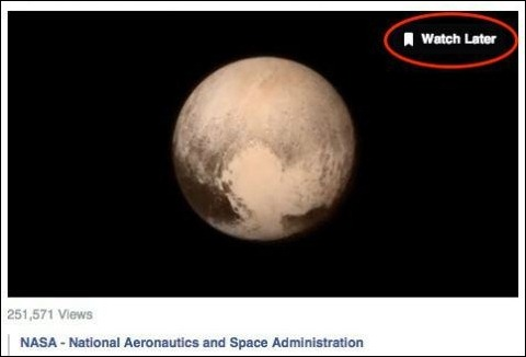"""El nuevo botón de videos para """"ver después"""" en Facebook"""