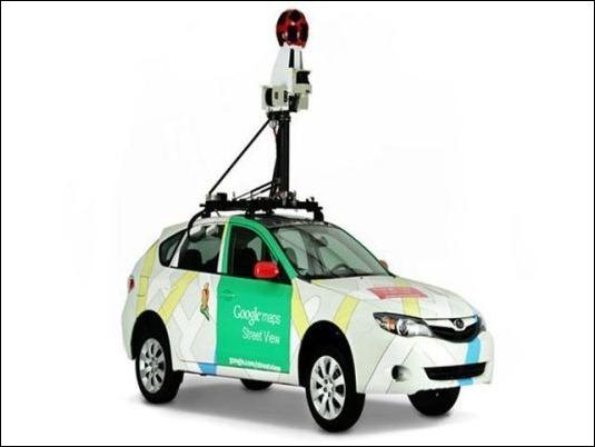 Vehículo de Google Street View provoca accidente en Uruguay