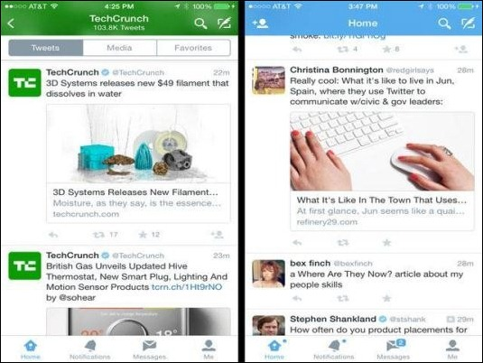 Twitter lanza una nueva vista para mostrar enlaces de artículos