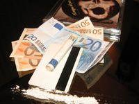 Los billetes españoles contienen las cantidades más altas de cocaína de Europa