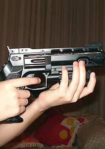 Internauta brasileño crea la primera pistola para Nintendo Wii