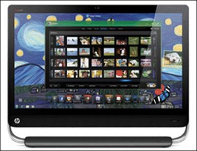 """HP Omni27, unPC all-in-one con pantalla de 27"""""""