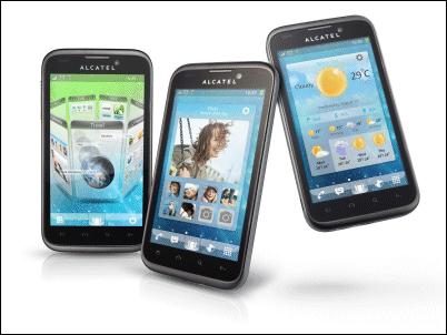 Alcatel One Touch 995, los Android más coloridos