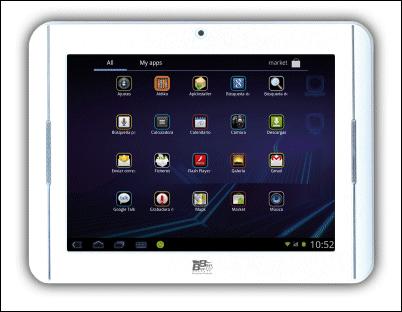Easy Home Tablet 8 Deluxe: alta definición, pantalla capacitiva, conexión inalámbrica y Android