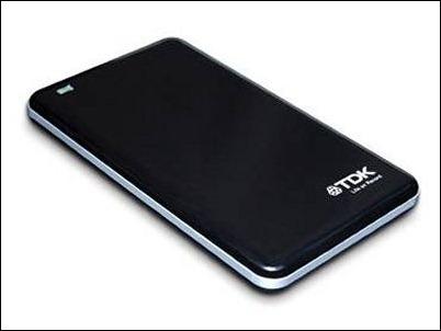 Discos duros portátiles SSD de TDK con interfaz USB 3