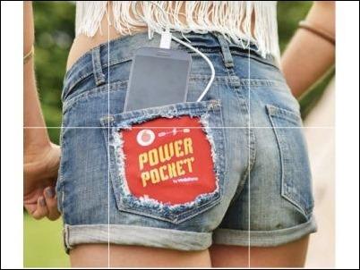 Vodafone lanza Shorts y sacos de dormir que cargan móviles