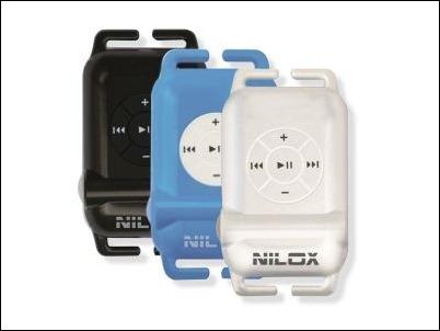 MP3 Acuático Naical Nilox Swimsonic, sumergible hasta 3 m. de profundidad