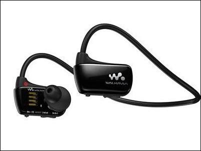 Sony Walkman W274S resistente al agua, ahora con 8 GB