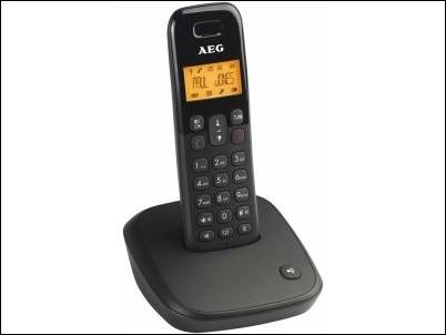 AEG DECT D100, teléfono inalámbrico de fácil uso e intuitivo