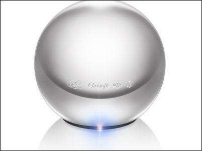 LaCie Sphère, disco duro portátil de 1 TB chapado en plata y fabricado a mano