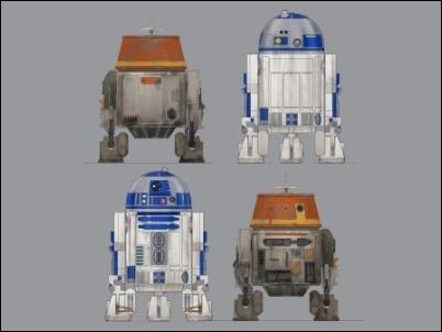 """Chopper"", el nuevo droide de Star Wars Rebels"