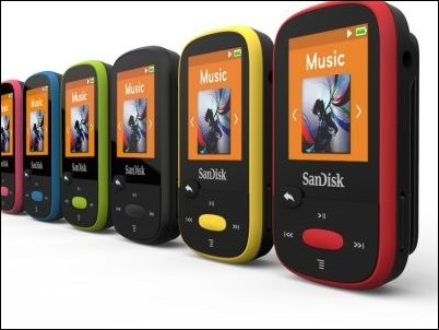 SanDisk Clip Sport, un MP3 para los amantes del deporte