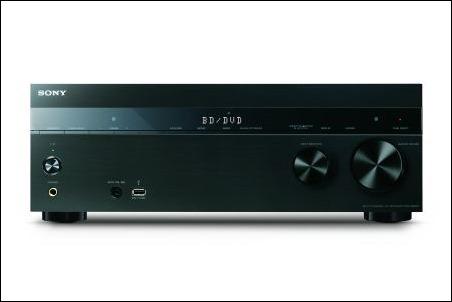 Receptores AV en red STR-DN1050 y STR-DN850 de Sony
