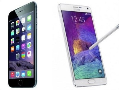 iPhone 6 vs Galaxy Note y Galaxy S5…. Conoce sus diferencias