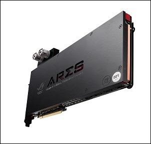 ASUS Republic of Gamers anuncia la nueva tarjeta de video en edición limitada Ares III