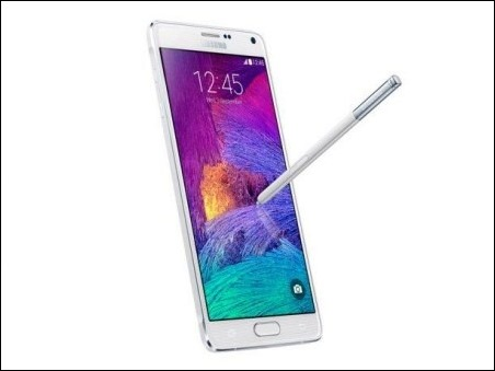 Samsung Galaxy Note 4 es el phablet con mejor batería
