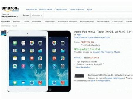 Amazon realizo 23 cambios en el precio del iPad durante el Black Friday