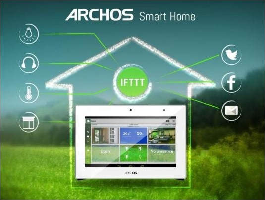 #CES2015: ARCHOS Connected Home, enciende la luz con un tweet