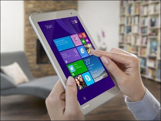 """Las nuevas Tablets de Toshiba de 8"""" Y 10"""" con tecnología Tru-Pen de Wacom"""