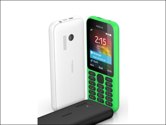 Nokia 215, el móvil internet más barato del mundo