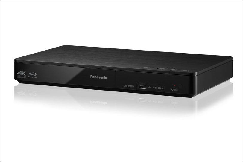 Blu-Ray BDT270, el nuevo reproductor 4K de Panasonic