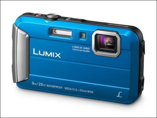 Cámara Fotográfica Lumix FT30: robusta, sumergible y con estilo