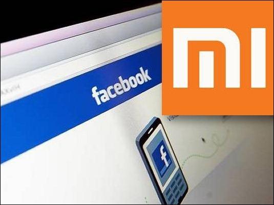 Facebook y Xiaomi negocian alianza para fabricar móviles