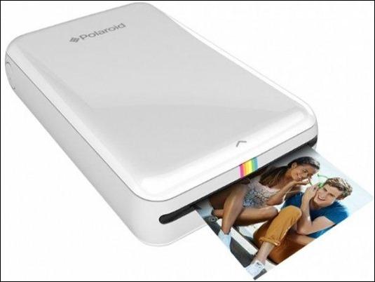 Polaroid Zip: la nueva impresora de fotos portátil