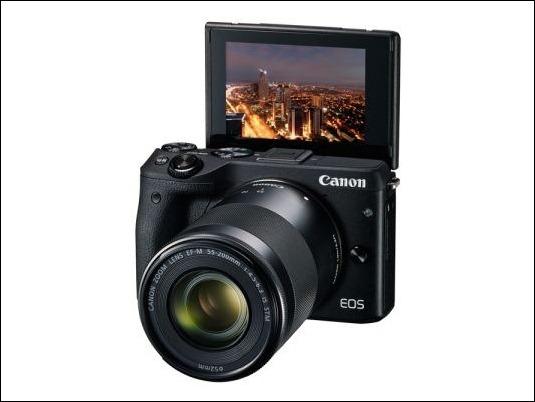 Canon EOS M3: toda la potencia de EOS en un cuerpo más pequeño