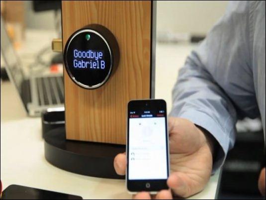 Goji, la nueva cerradura inteligente que se abre con el móvil