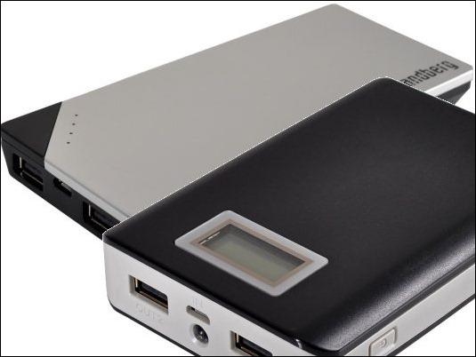 Sandberg presenta cargador para dos dispositivos móviles