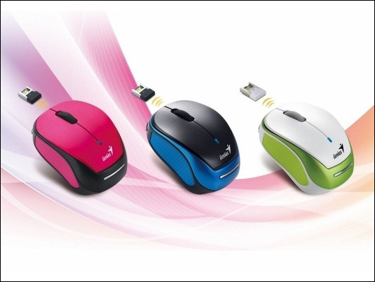 Genius presenta el mouse ultra pequeño de tan solo 68 mm con batería recargable