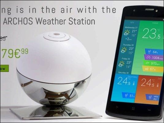 Anticípate a las lluvias de Abril, con la estación meteorológica Archos