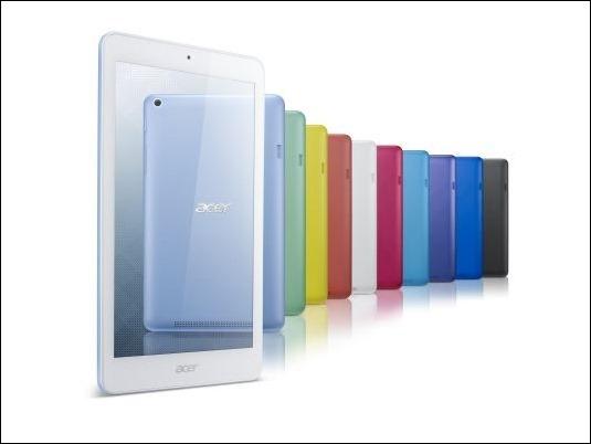 Acer Iconia One 8 el nuevo tablet con prestaciones táctiles avanzadas