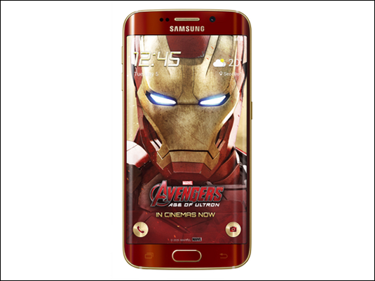 Samsung lanza una edición limitada de Galaxy S6 edge Iron Man
