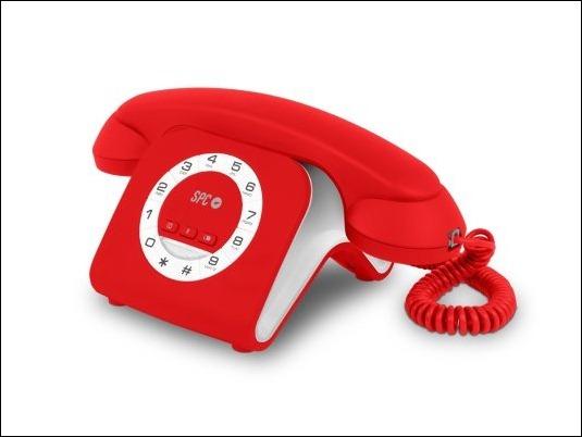 Telefono SPC Retro Elegance Mini: Una pieza de diseño único para el hogar