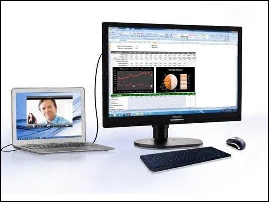 Nuevo monitor para empresas Philips con puerto USB