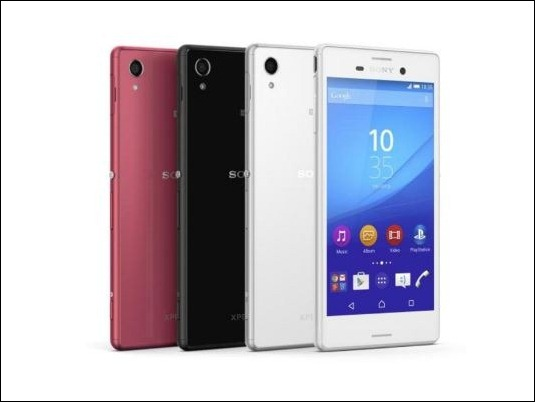 Sony lanza su nuevo smartphone de gama media Xperia M4 Aqua por 299€