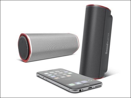 Creative lanza Sound Blaster Free, un altavoz liviano, Bluetooth e impermeable