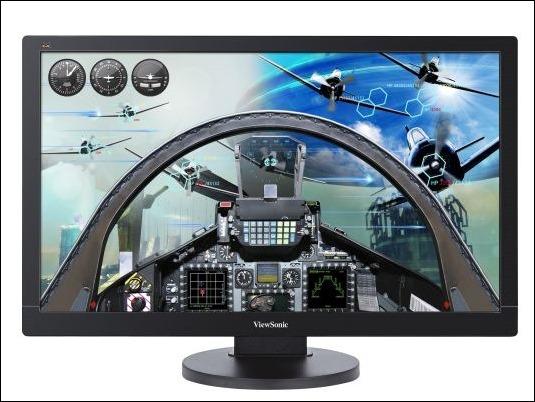 "ViewSonic VX2475SMHL-4K, monitor multimedia Ultra-HD de 24"""