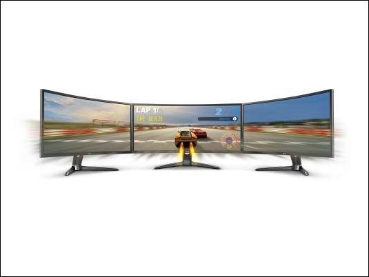 La competición se vuelve real con el nuevo Monitor  XR3501 de BenQ con curvatura de 2000R